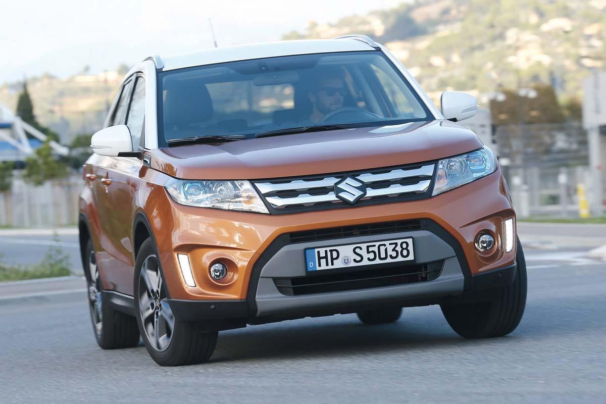 Los SUV pequeños que menos valor pierden. Suzuki Vitara