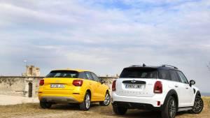 Audi Q2 1.4 TFSI o Mini Cooper Countryman: comparativa (fotos)