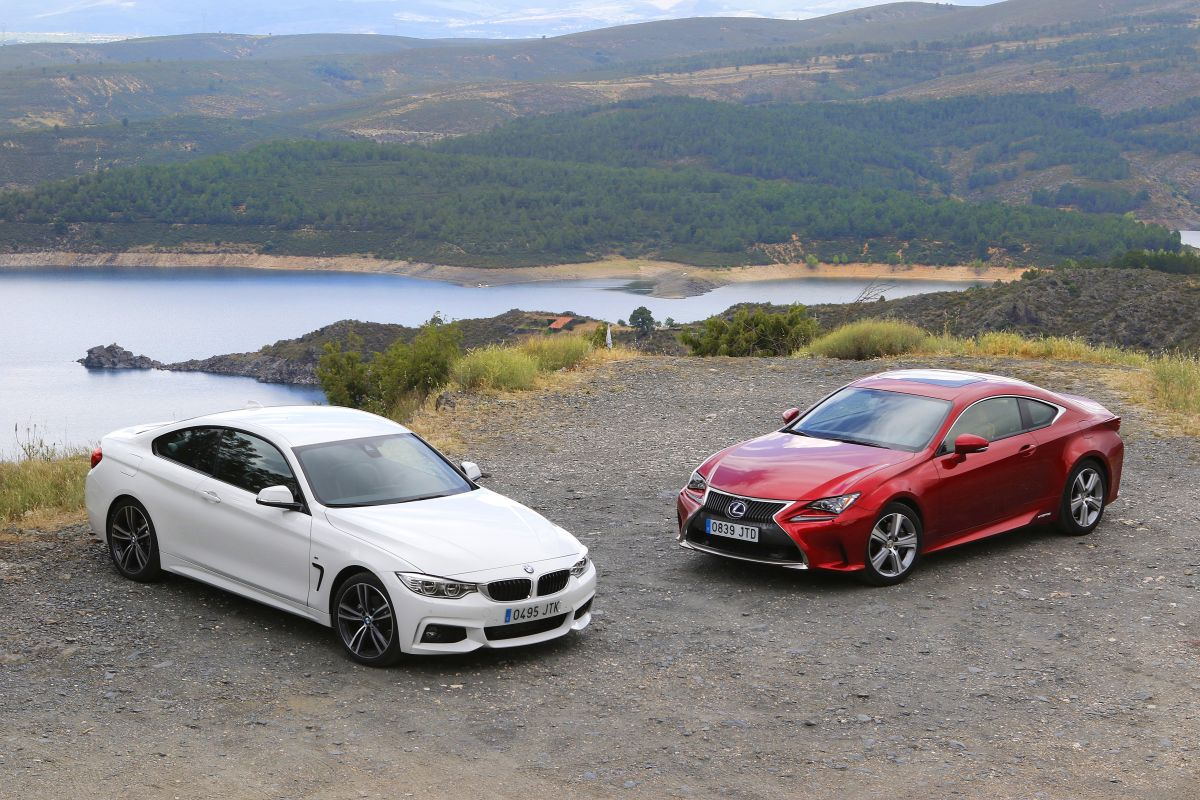 BMW 420d Coupé o Lexus RC 300h: comparativa (fotos)