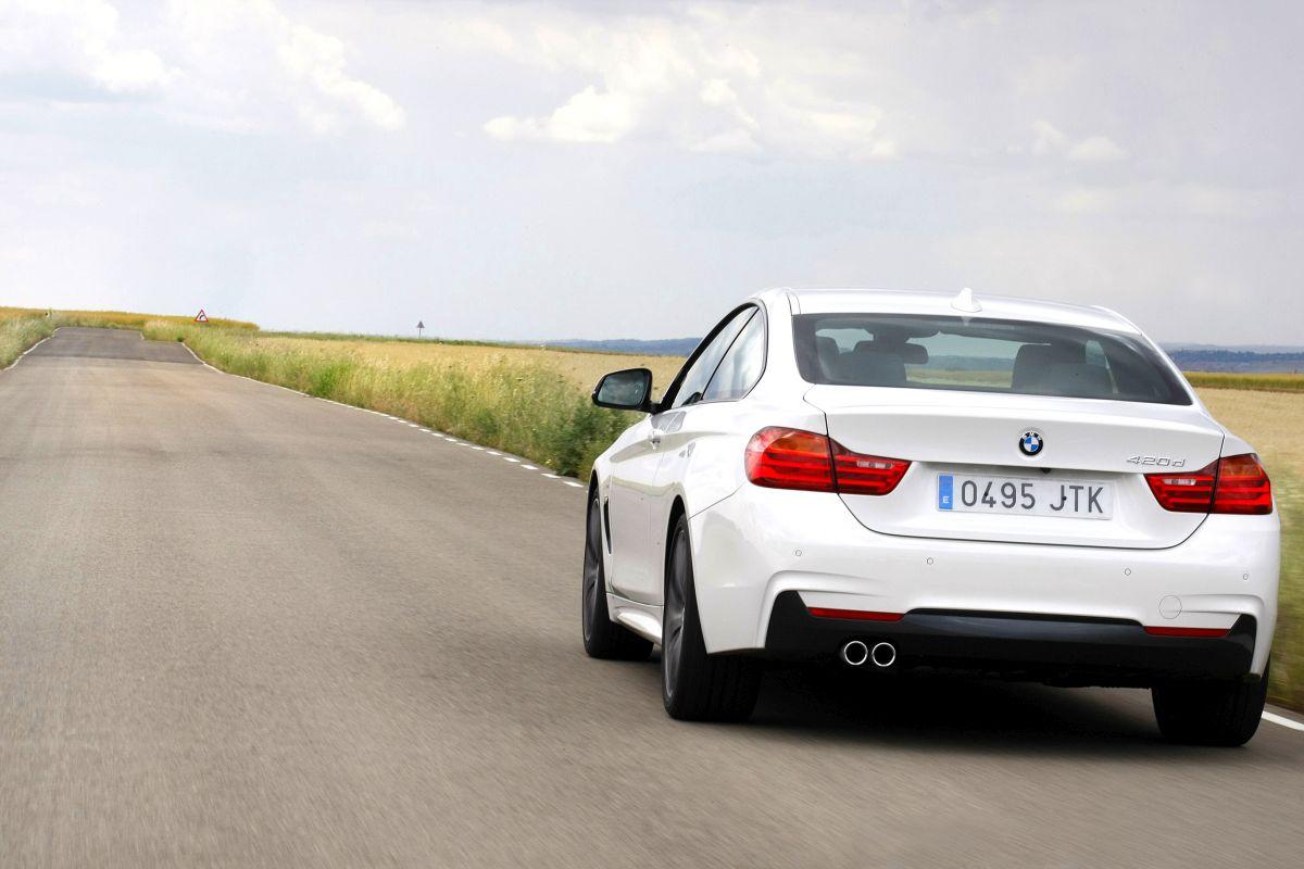 BMW 420d Coupé. Trasera