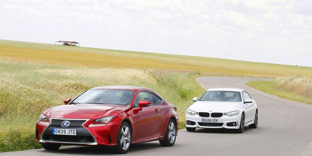 BMW 420d Coupé o Lexus RC 300h: comparativa