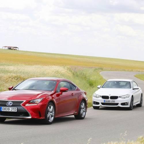 BMW 420d Coupé o Lexus RC 300h: comparativa