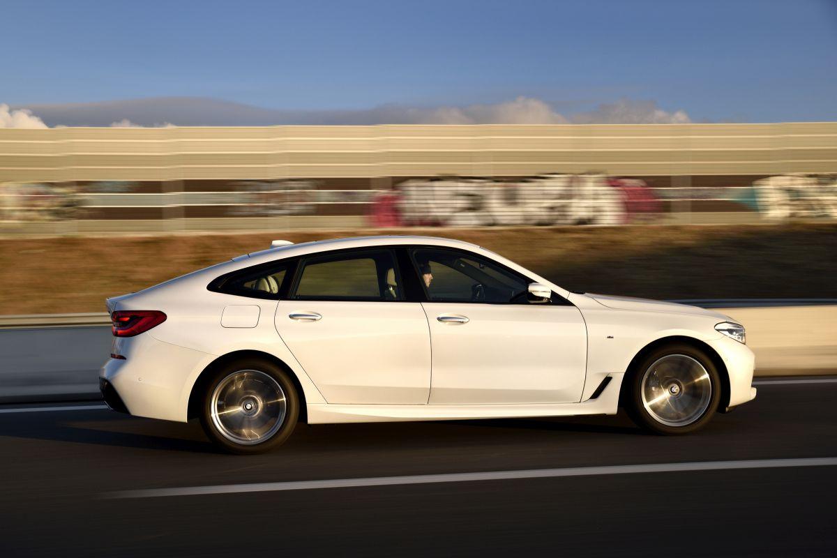 BMW Serie 6 Gran Turismo. Barrido