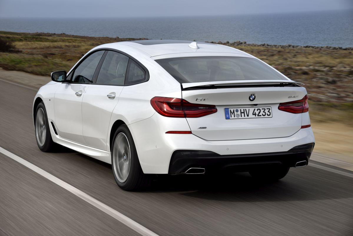 BMW Serie 6 Gran Turismo. Trasera
