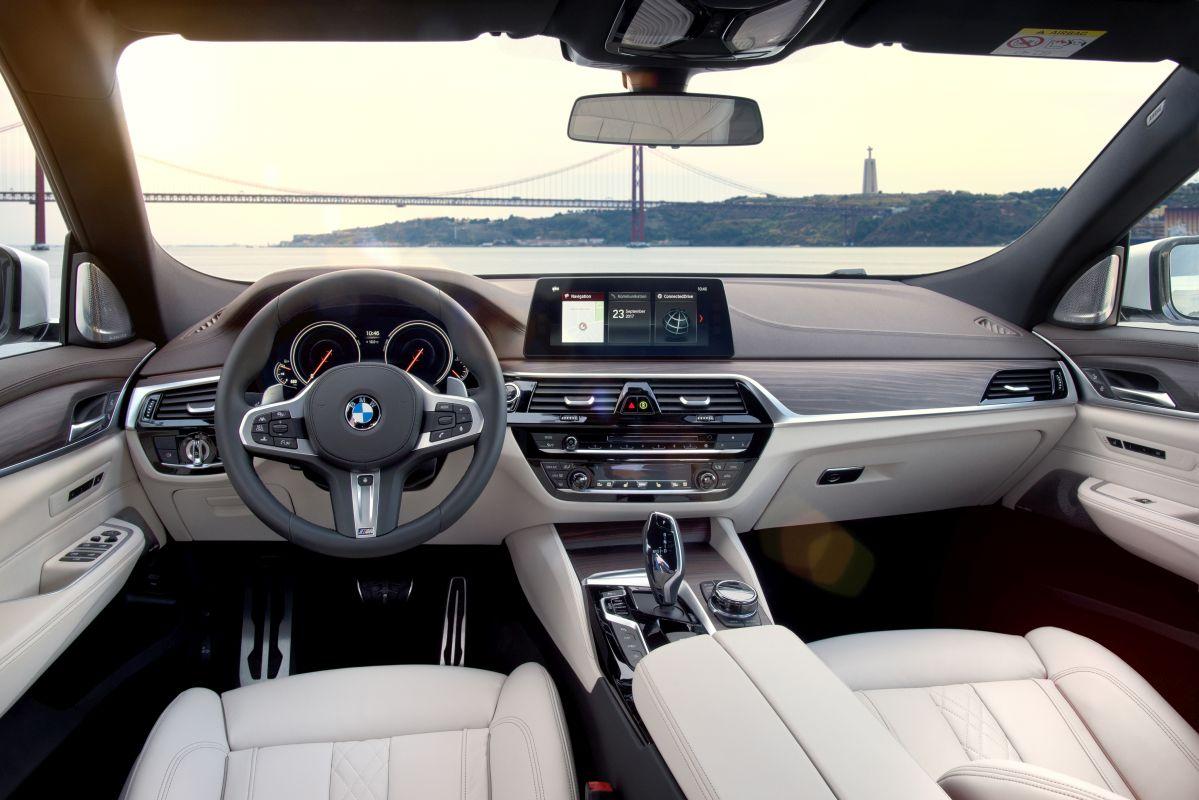BMW Serie 6 Gran Turismo. Salpicadero