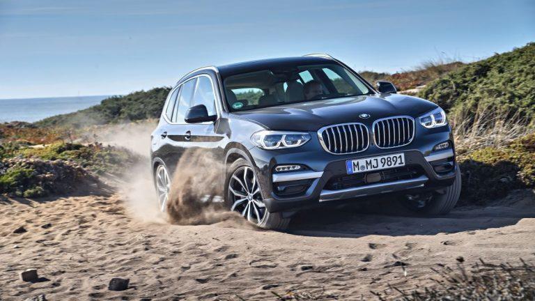 BMW X3 2018: frontal