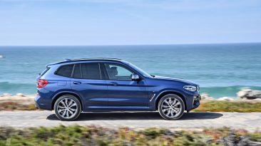 BMW X3 2018: barrido