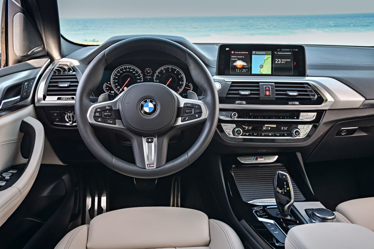 BMW X3 2018: salpicadero