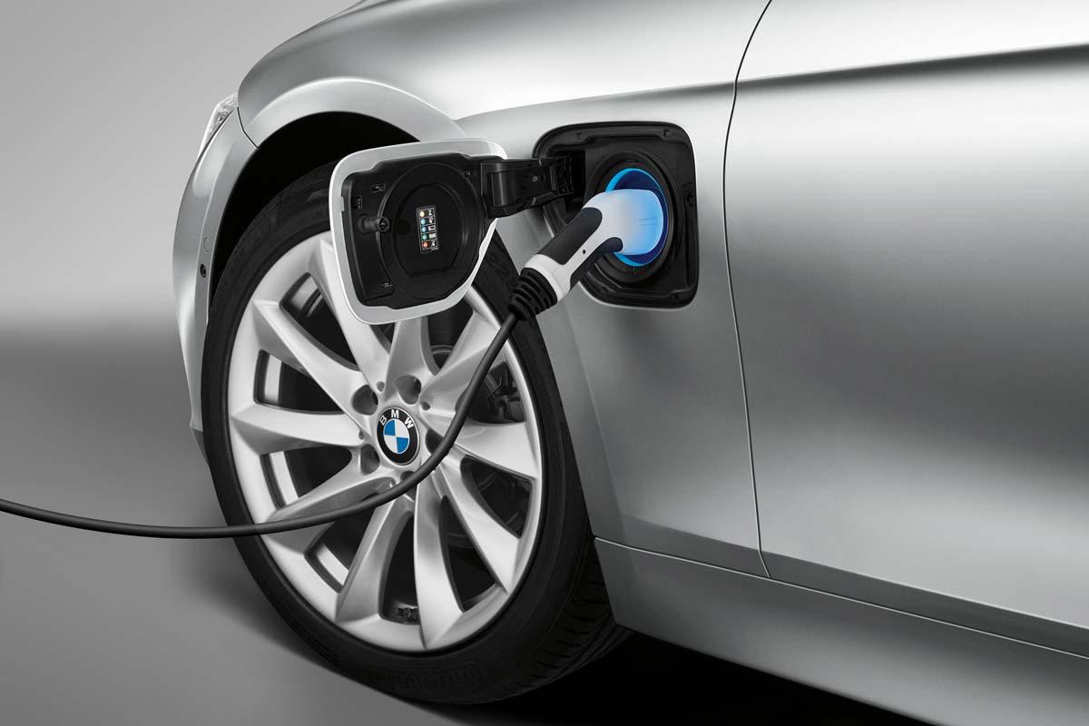 Recarga de coche eléctrico BMW