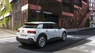 Citroën C4 Cactus 2018. Trasera blanco