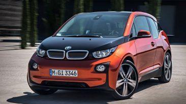 Coches eléctricos más vendidos en septiembre. BMW i3: 124unidades.
