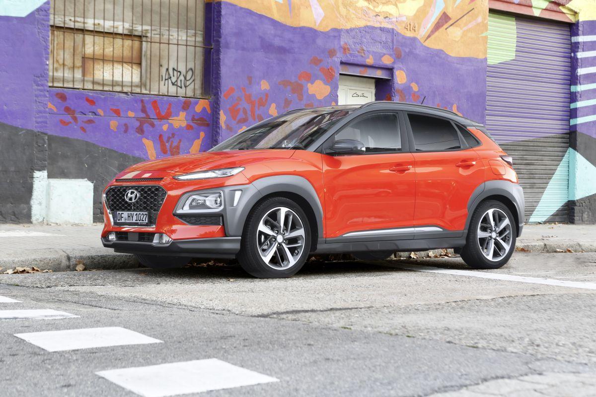 Hyundai Kona prueba: lateral