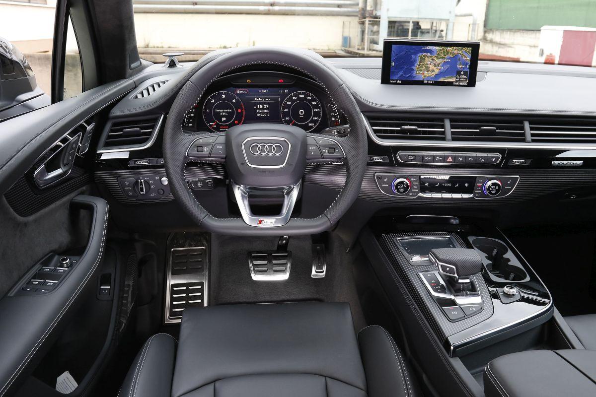 Audi Q7 3.0 TDI 272 CV. Salpicadero