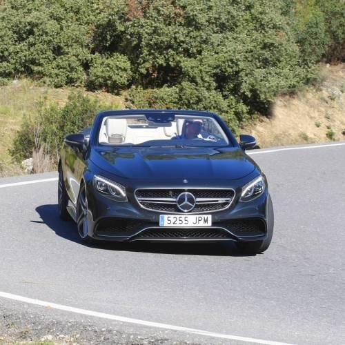Mercedes-AMG S 63 Cabrio, a prueba: sueño de jeques
