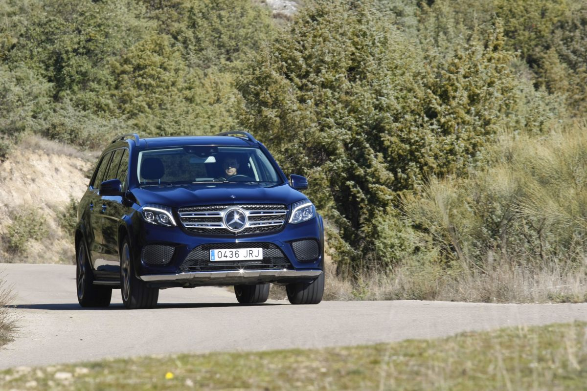 Mercedes-Benz GLS 350d 4Matic, a prueba (fotos)