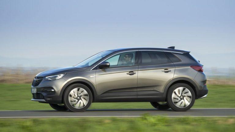 Opel Grandland X 2017 barrido a izquierda