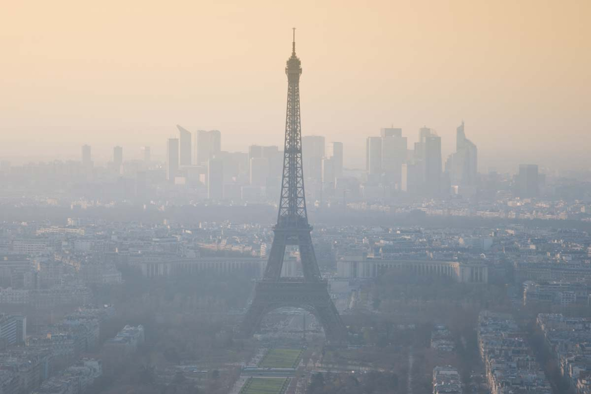Contaminación París