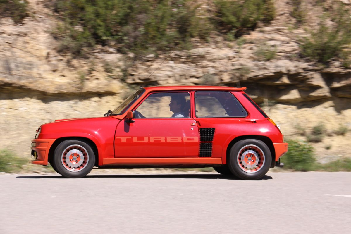 Renault 5 Turbo barrido