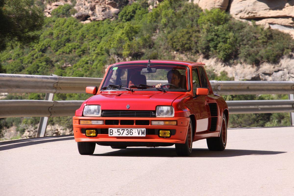 Renault 5 Turbo apoyo en curva