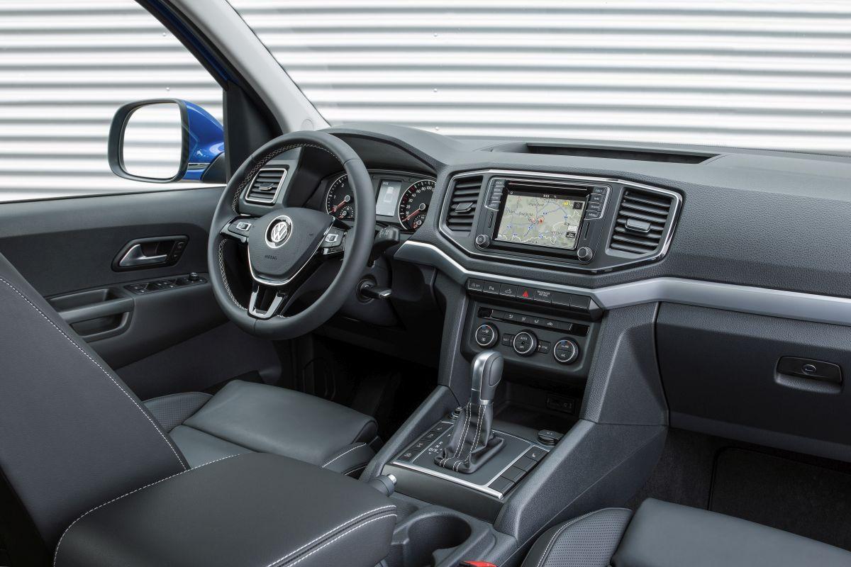 Volkswagen Amarok 2017 salpicadero