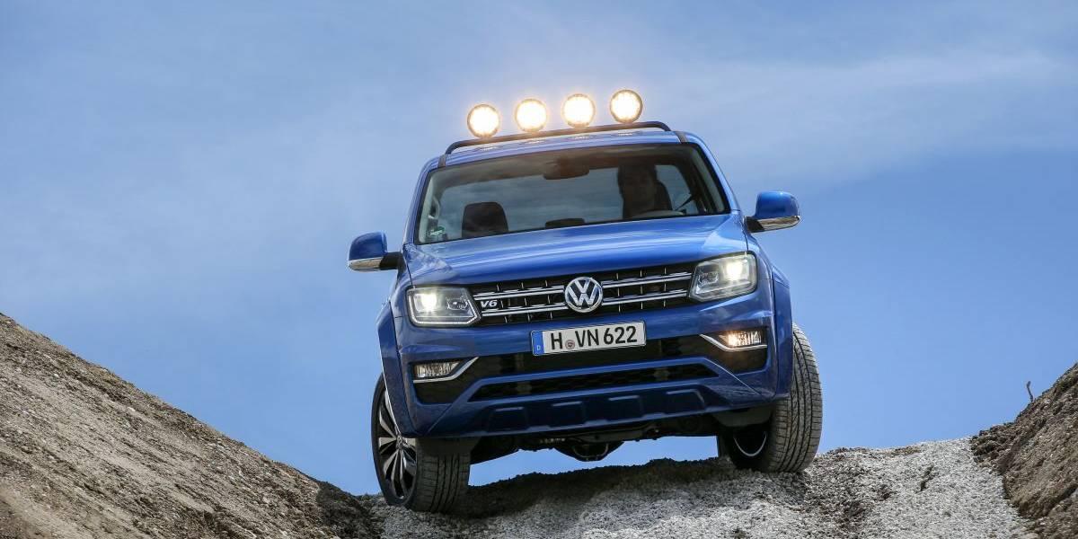 Volkswagen Amarok 2017, así es el pick up de Volkswagen