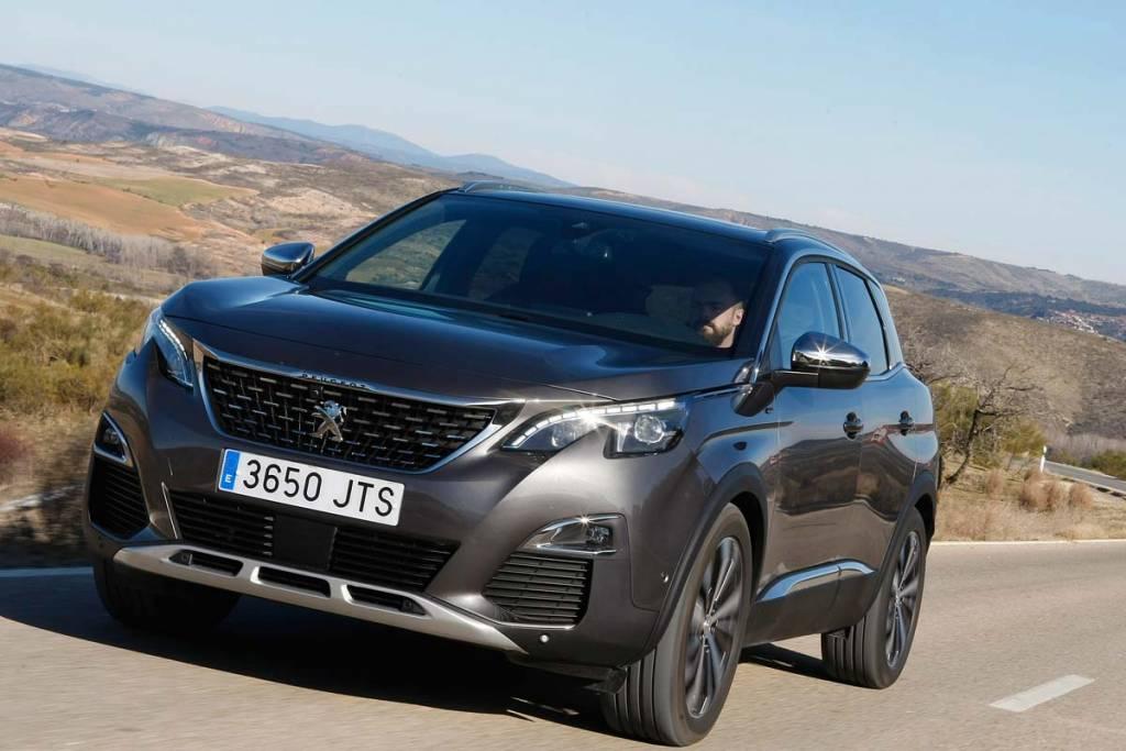 Los 20 SUV más vendidos en octubre de 2017. 7.- Peugeot 3008: 1.319 unidades