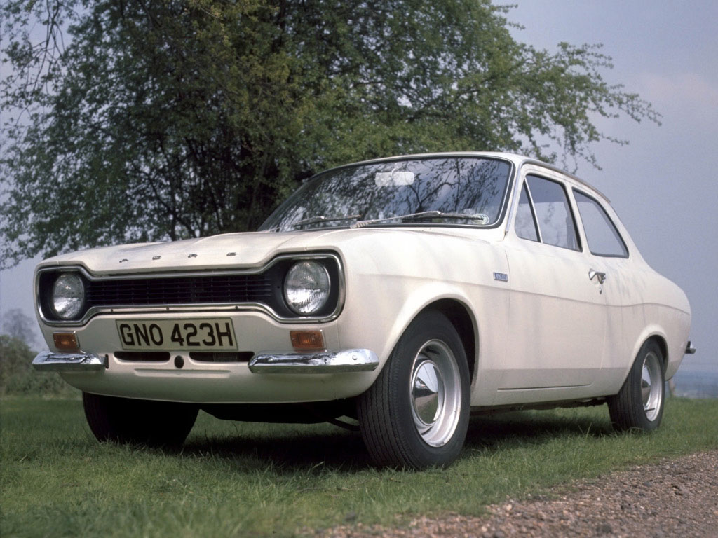Ford Escort RS 1600 de 1970