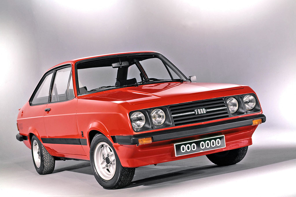 Ford Escort RS2000 de 1976