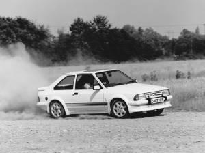 Ford Escort RS Turbo de 1984