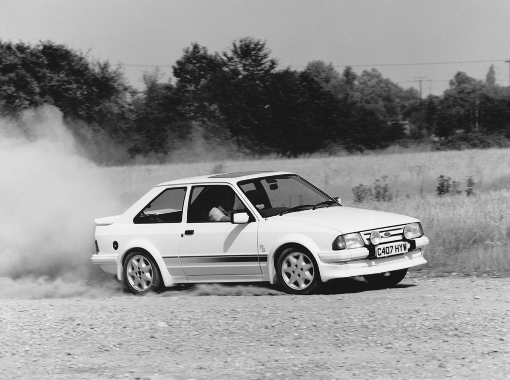 Ford Escort RS Turbo de 1984