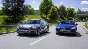 Audi A4 Avant G-Tron y Audi A5 Sportback G-Tron