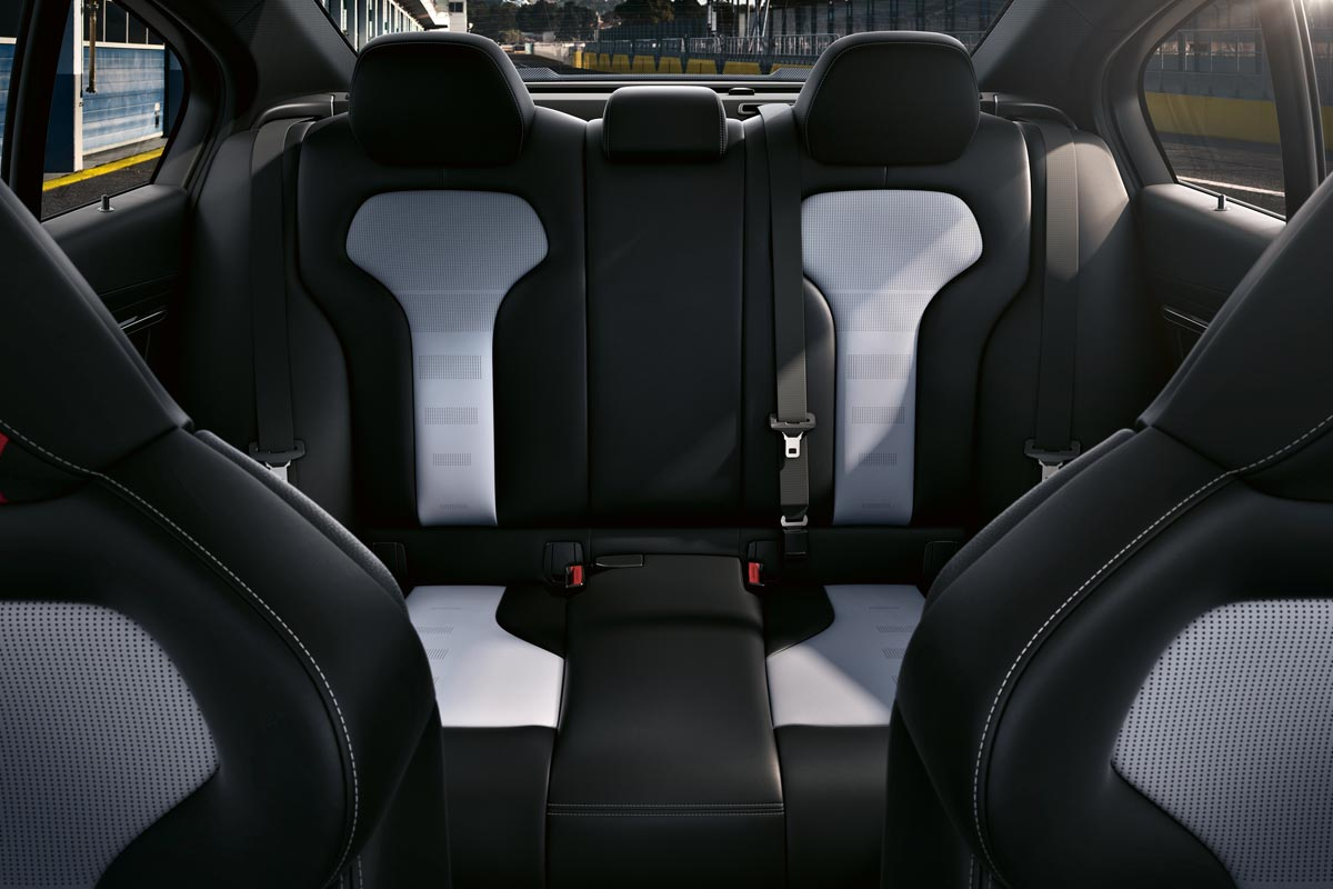 BMW M3 CS tapicería asientos