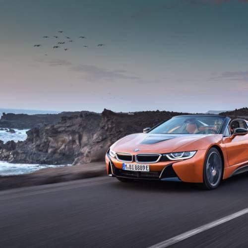 BMW i8 Roadster 2018, ahora también en versión cabrio