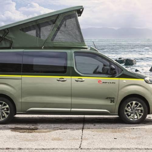 Citroën SpaceTourer Rip Curl Concept, el rival del Volkswagen California