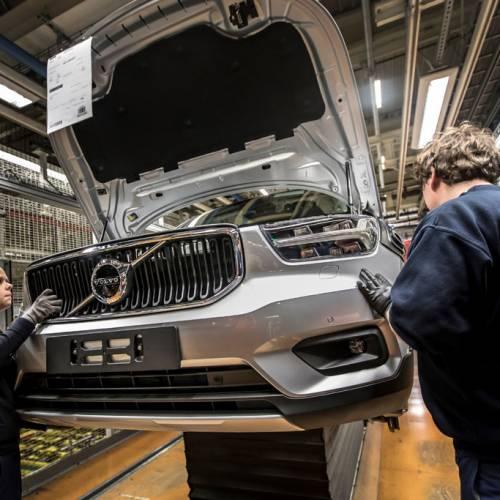 Volvo inicia la producción del XC40 en Bélgica