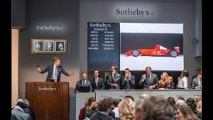 Ferrari F2001 de Schumacher: vendido por 6,33 millones de euros (fotos)