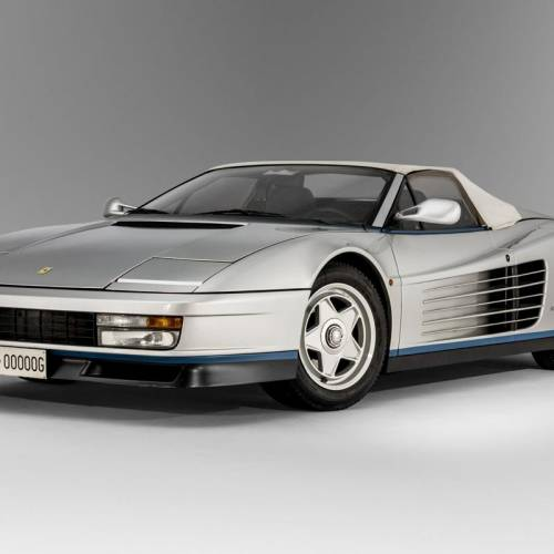 Te presentamos el único Ferrari Testarossa Spider del mundo