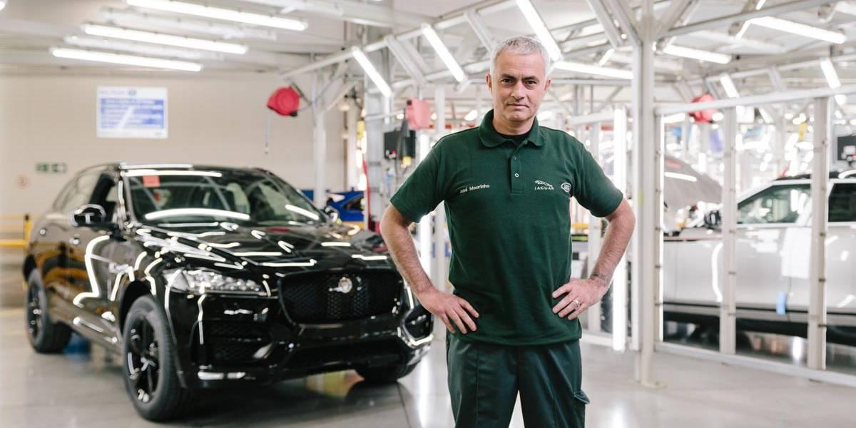 Jaguar F-Pace número 100.000: directo de la fábrica al garaje de Mourinho