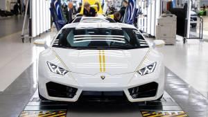 Lamborghini Huracán: las fotos del superdeportivo del Papa Francisco (fotos)