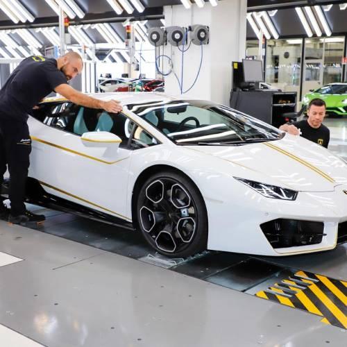 Lamborghini Huracán: el Papa Francisco ya tiene su superdeportivo