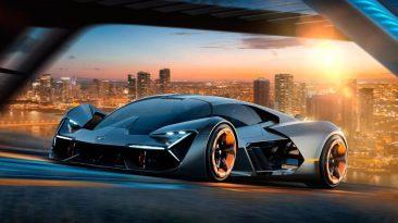 Lamborghini Terzo Millennio delantera movimiento