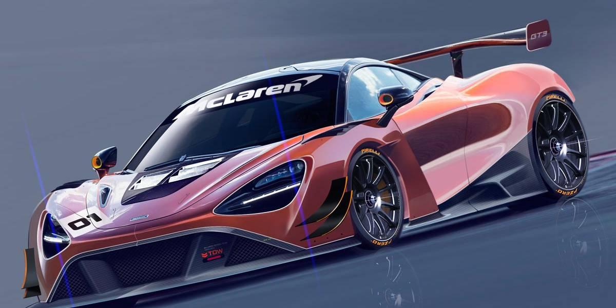 McLaren 720S GT3: un nuevo modelo de competición para 2019