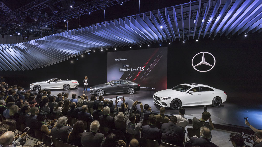 Nuevo Mercedes-Benz CLS 2018, sofisticación sin restar deportividad (fotos)