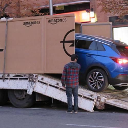 Opel entrega la primera unidad del Grandland X vendido a través de Amazon