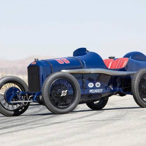 Peugeot L45 Grand Prix Two Seater de 1914: vendido por una cifra astronómica