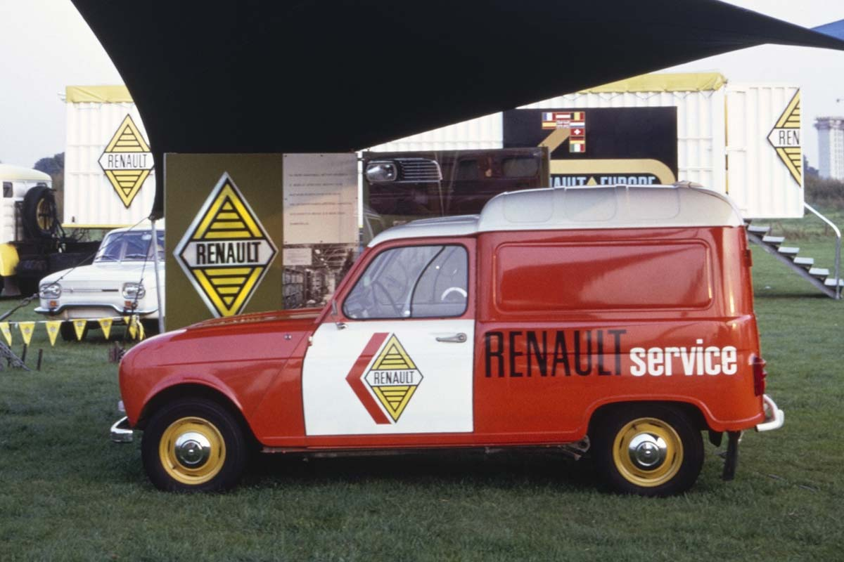 Renault 4 F4 Service