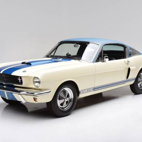 El prototipo del Shelby Mustang GT350 de 1966, a subasta