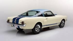 El prototipo del Shelby Mustang GT350 de 1966, a subasta (fotos)