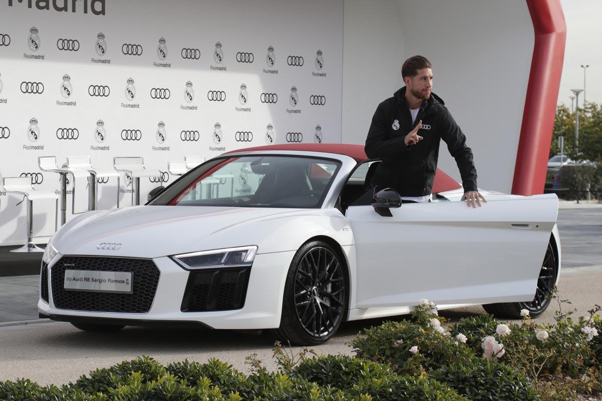 Audi entrega sus vehículos a la plantilla del Real Madrid - Cosas ...