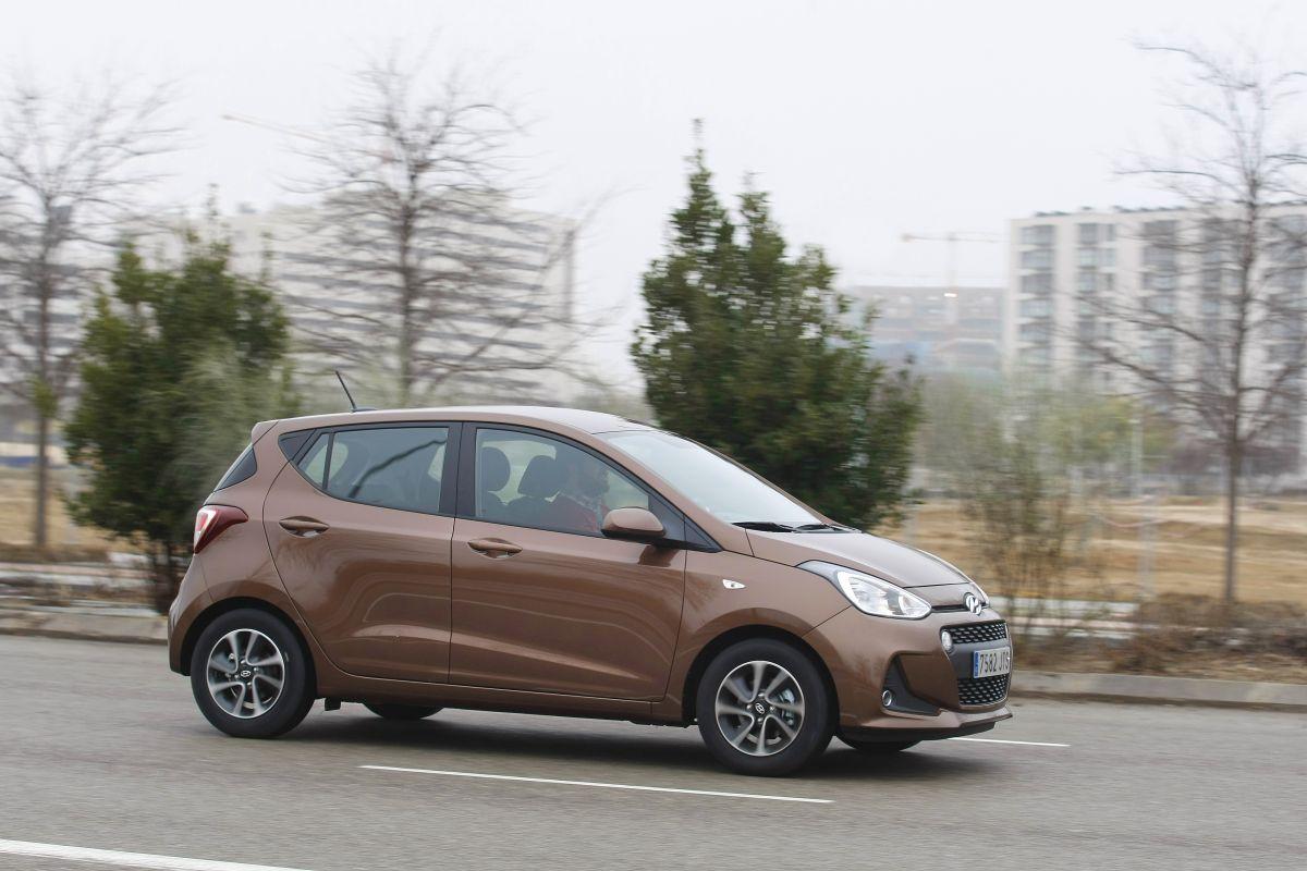 Hyundai i10 1.2 MPI 87 CV. Barrido a derecha